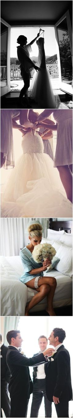 20 Heart-melting Getting Ready Wedding Photo Ideas You Can't Miss!