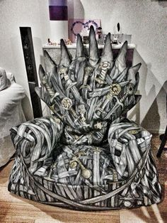 Be The King of Nerderos With This Game of Thrones Bean Bag Chair