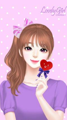 รูปภาพ drawing, Enakei, and girl