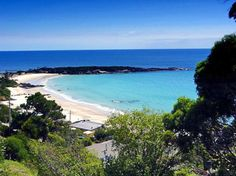 When we are home in Tassie, this is just a short walk from our door. Harbor Beach, Australian Beach, Australia Living, Tasmania, East Coast, Places Ive Been, Beaches, Trips, Places To Visit