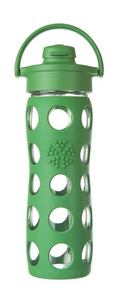 LifeFactory Glass Water Bottles - Flip Top
