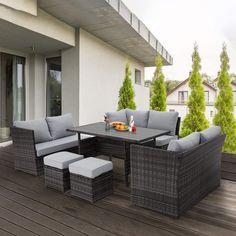 Outdoor Sofa Sets, Outdoor Dining Set, Patio Dining, Outdoor Sectional, Dining Tables, Indoor Outdoor, Outdoor Living, Outdoor Decor, Sectional Patio Furniture