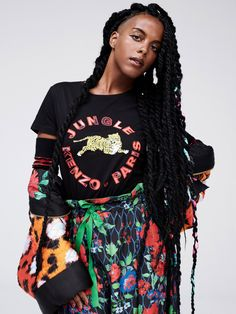 The Complete Kenzo x H&M Collection Is Here Seems the graphic jungle theme is in for 2016 across several brands