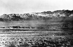 Camp Douglas and the east end of Salt Lake City, Utah Territory. Wasatch Mountains in the background. Emigration Canyon on the left 1869. T.H. O'Sullivan  |  United States Geological Survey