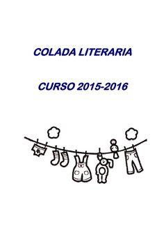 Colada literaria para issuu  actividades que fomentan la creatividad literaria en el alumnado de secundaria