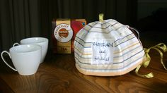 This tea cosy and tea was our day 11 prize.  We made the tea cosy with our 'Line of Ants' fabric, and we put the instructions on the website www.fairtradefabric.co.uk/FREE-Project-Instructions/Tea-Cosy #fairtradefortnight #fairtrade #YouEatTheyEat #cotton