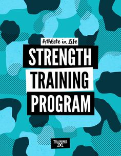 Athlete in Life Strength Training Program — Strength Training Program, Training Programs, How To Gain Confidence, Muscle Mass, Excercise, Conditioning, Programming, Athlete, Workouts
