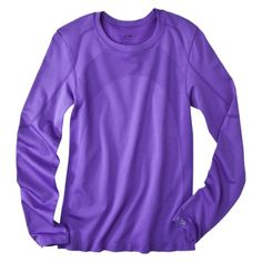 C9 by Champion® Womens Long-Sleeve Seamless Athletic Tee - Assorted Colors $24.99