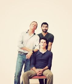 Tyler Hoechlin, Linden Ashby and Dylan O'Brien