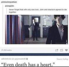 Sherlock & John T_T