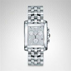 CONCORD MNS SPRTIVO SIL CHRONO TANK DIAL SS WATCH 310402 Concord Watches, Square Watch, Accessories, Jewelry Accessories