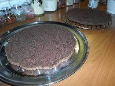 Τούρτα σοκολατίνα με κρέμα σοκολάτας και γλάσο! Griddle Pan, Grill Pan