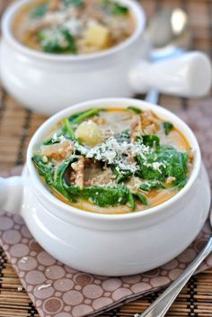 Copycat Zuppa Toscana just like you get at Olive Garden!