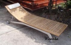 Indonesia teak furniture manufacturer - Best teak furniture - Teak wood furniture for indoor and outdoor. Teak Outdoor Furniture, Wood Furniture, Modern Furniture, Indoor Outdoor, Outdoor Decor, Furniture Manufacturers, Teak Wood, Sun Lounger, Collections