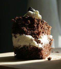 Wuzetka- Polish cake with cream - Anna& kitchen - Tea Time, Biscuits, Anna, Polish, Cacao, Baking, Desserts, Recipes, Europe