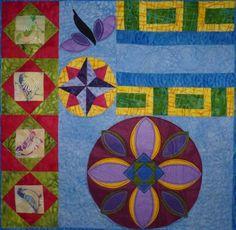 Boho Bliss Block 1 Quilt Pattern TCQ-35