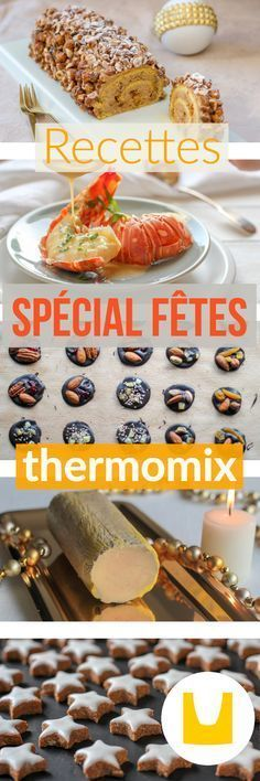 I propose here Christmas recipes at Thermomix for your Christmas and New Year's meals, but also Thermomix Desserts, Easy Desserts, Coconut Snowballs, Christmas Dishes, Christmas Meals, Christmas Recipes, No Salt Recipes, Brunch, Food Inspiration