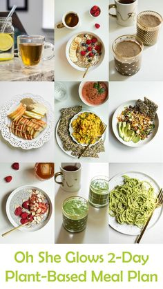 This post includes 9 plant-based recipes PLUS a printable grocery list!!