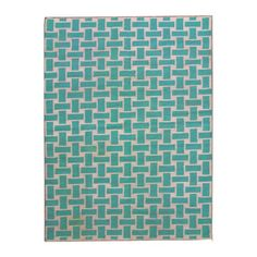 Nadar Dhurrie 5x8 Turquoise, $229, now featured on Fab.