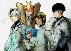 Tokyo Ghoul:re ❤ I can't wait for the anime to air *.*