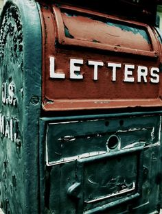 The joys of letter writing