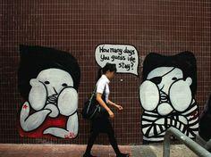 If you take notice, you can find some pretty beautiful street art around Hangzhou #hangzhou #china #asia #travel #explore  #traveler #art #graffiti #paint #streetart