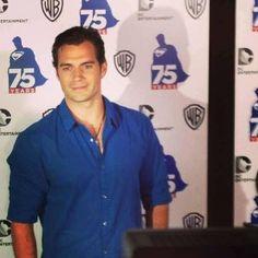 Henry en Fiesta Superman 75 aniversario y en el panel de San Diego Comic-Con 2013