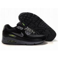 pretty nice 3e636 22cd7 Nike Air Max 90 Black Black D05082 Nike Air Max, Mens Nike Air, Nike