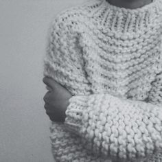 Oversized Comfy Wool Sweater | Inspiration With the naked idea, this pose but nacked top