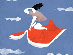 Reading makes your imagination fly by Bea R Vaquero.