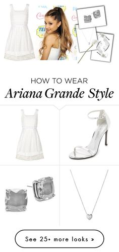"""""""white Beauty"""" by hillarymaguire on Polyvore featuring Sea, New York, Kate Spade, Links of London and Stuart Weitzman"""