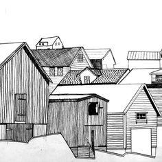 Norway-Drawing. - Jo Faulkner