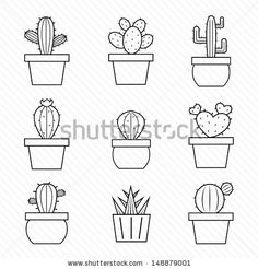 Cactus Vector Stock Photos, Cactus Vector Stock Photography, Cactus Vector Stock Images : Shutterstock.com