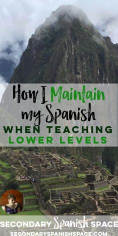 Tips on maintaining language skills when you teach lower levels Spanish Songs, Spanish 1, Spanish Lessons, How To Speak Spanish, Learn Spanish, Spanish Grammar, Spanish Alphabet, Spanish Teaching Resources, Spanish Activities