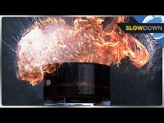▶ Insane Grease Fire Blows Up in Slow Motion - YouTube