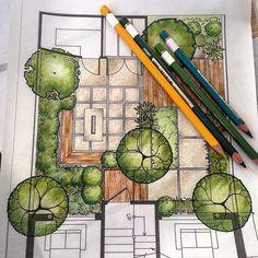 Dibujos paisajismo
