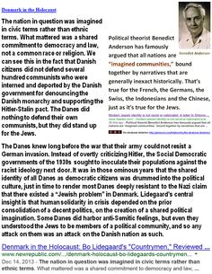 "Holocaust Haggadah:  Denmark in the Holocaust - The nation in question was imagined in civic terms rather than ethnic terms.   >Einstein on the Abrahamic idolatries: The worship of false gods such as Yahweh is not only ""unworthy but also fatal"", with ""incalculable harm to human progress."" > >   Jesus or Jefferson: whose laws are best for the USA? Holy Heretic poll: http://www.sodahead.com/united-states/jesus-or-jefferson-whose-laws-are-best-for-the-usa/question-2547153/"