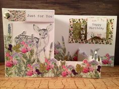Created by Nicky forCraftwork Cards with Hedgerow collection