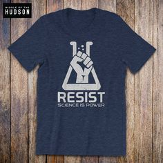 60946f95 Items similar to March for Science Shirt - Resist Shirt, science march,  resist, earth day, anti trump shirt, human rights, activist, political shirt  on Etsy