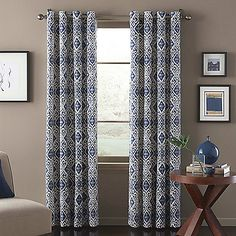 Add an exotic flair to any room with the Marrakech Window Curtain Panel. This stylish panel features a beautiful, printed design and matches with a variety of decors. Panels are sold individually and measure 52 wide each.