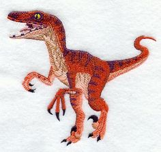 Velociraptor design (M2007) from www.Emblibrary.com