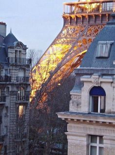 Nice view of Eiffel Tower