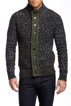 Dalton Button Front Wool Blend Cardigan