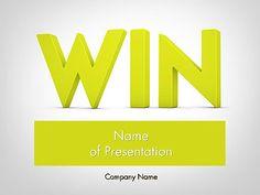 http://www.pptstar.com/powerpoint/template/word-win/ Word WIN Presentation Template