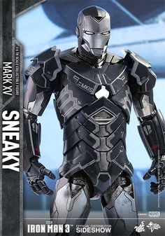Marvel Iron Man Mark XV - Sneaky Sixth Scale Figure by Hot T | Sideshow…
