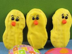 Nutter Butter Easter Chicks. . . wait for it, there's BUNNIES too!!!