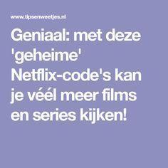 Netflix-codes om te zoeken op genre of acteur