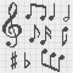 Cross stitch If you have been interested in being a fashion designer for a while now, there is a goo Cross Stitch Music, Small Cross Stitch, Cross Stitch Letters, Cross Stitch Bird, Cross Stitch Flowers, Cross Stitching, Cross Stitch Embroidery, Hand Embroidery, Cross Stitch Alphabet Patterns