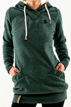 Naketano Rübezahl forrest melange grün Damen Hoodie Kapuze Pullover | eBay