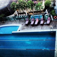 View of the pool from our suites. #BurJumanArjaan Thank you @sayaf112 for the picture.